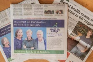 The Green family featured in the newspaper