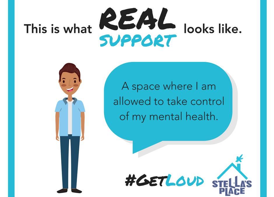 Let's #GetLoud for Mental Health Week 2018!