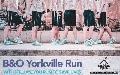 Racing to $50,000 at the B&O Yorkville Run!