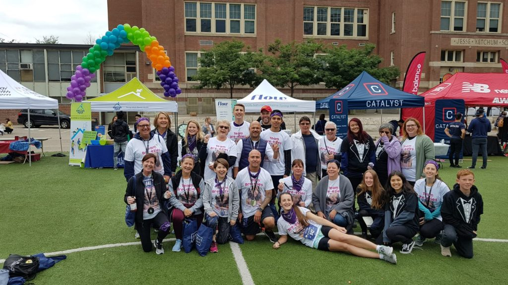 Team Easy Bre-ezies, B&O Run 2018