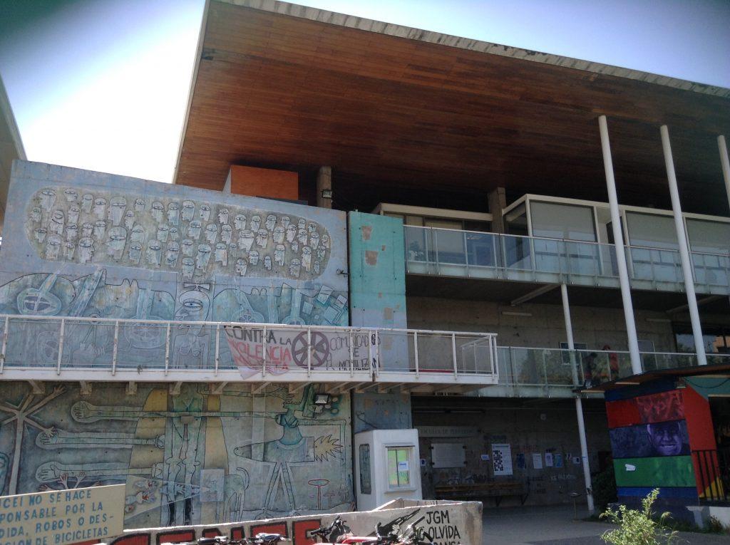 Universidad De Chile Graffiti Art