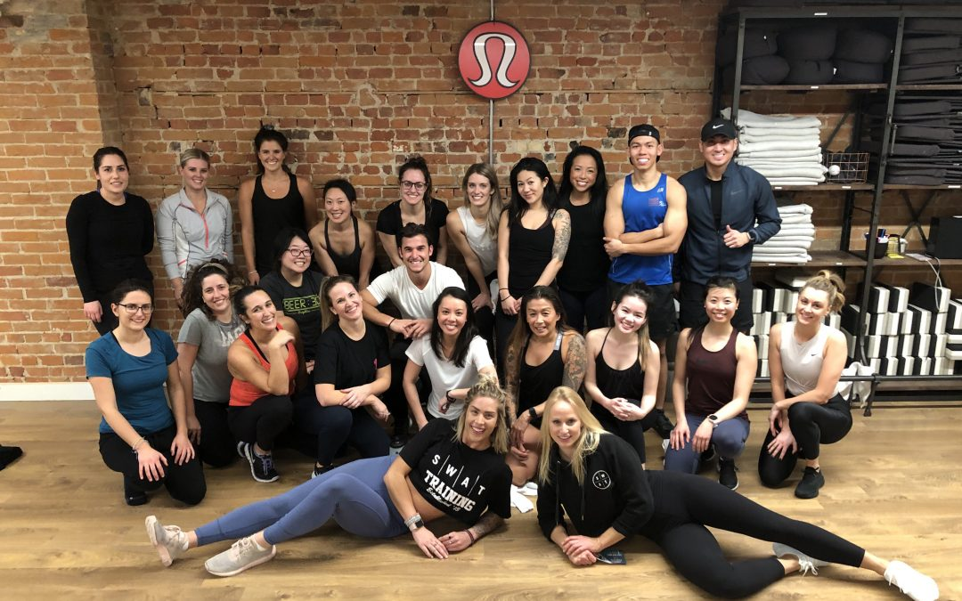 Fitness Workshop for Mental Health: SWAT Health x lululemon