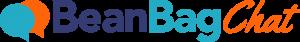 Purple, blue and orange BeanBagChat logo