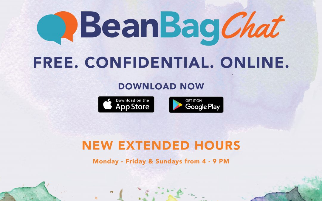 BeanBagChat: New Extended Hours