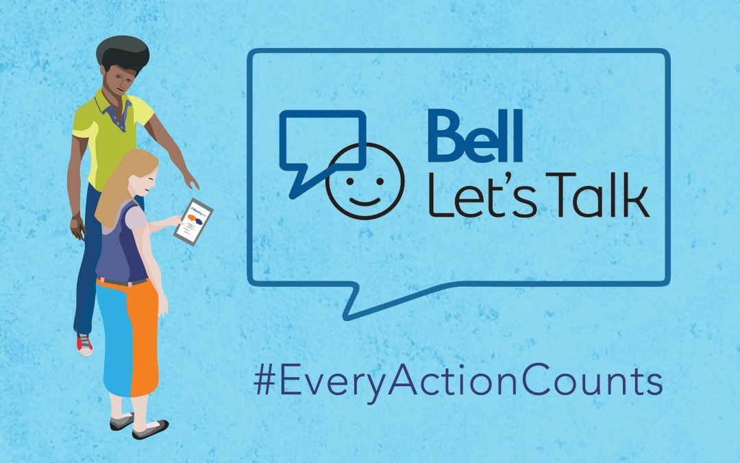 Every Action Counts for Bell Let's Talk Day