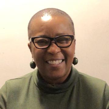 A portrait of Nzinga Walker